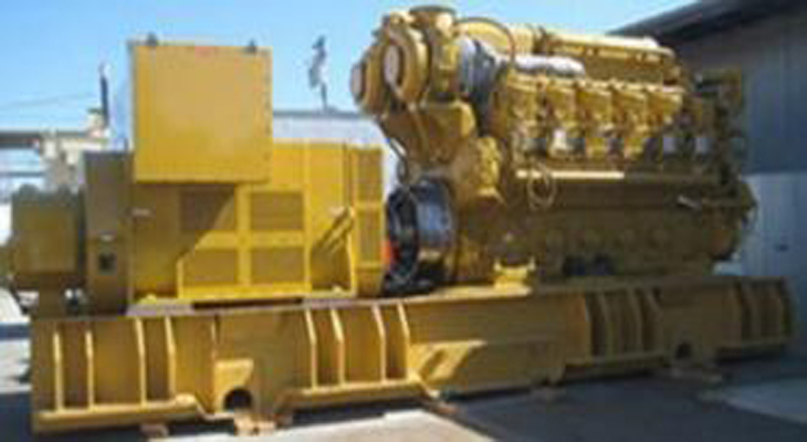 CAT C280-12 GenSet for 50MW Power Plant