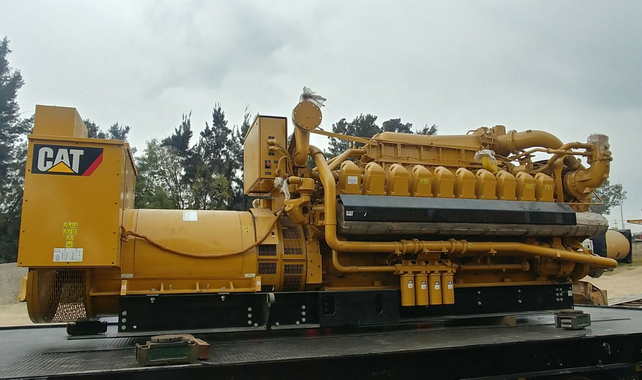 Caterpillar G3520C Sold To Pharmaceutical Company