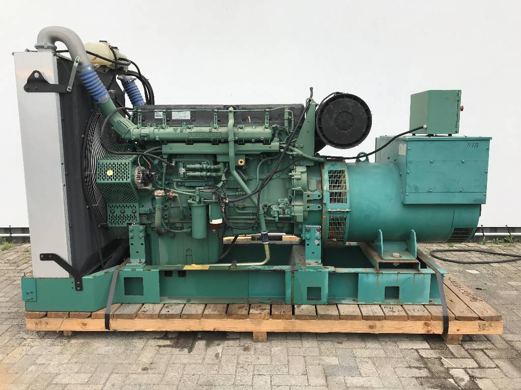 2 New Volvo Penta TAD1641GE Industrial Generators Shipped to the Netherlands