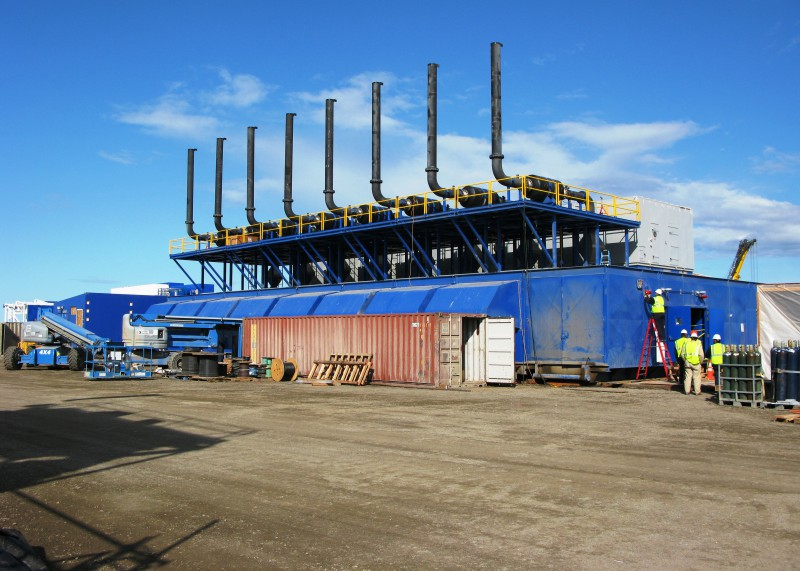 16MW Natural Gas Power Plant Relocated from Alaskan Oil Rig