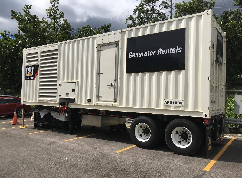 CAT APS1000 Power Module Supplied to Customer Fleet