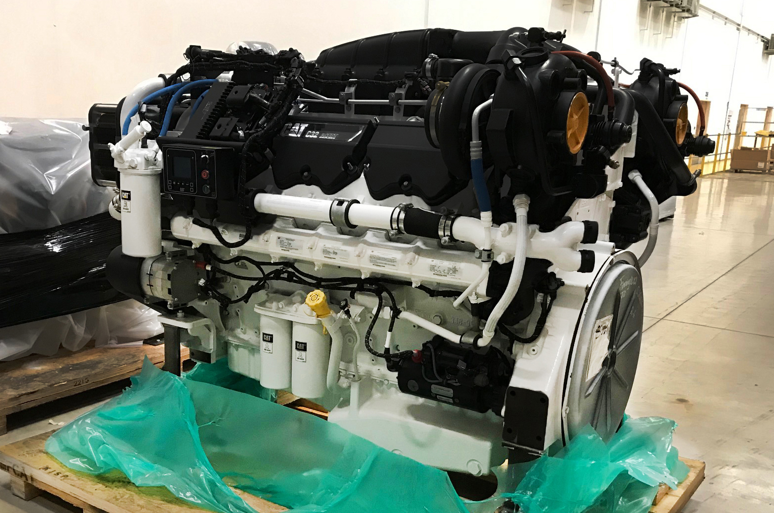 (4) Caterpillar C32 Engines Supplied For Patrol Ships