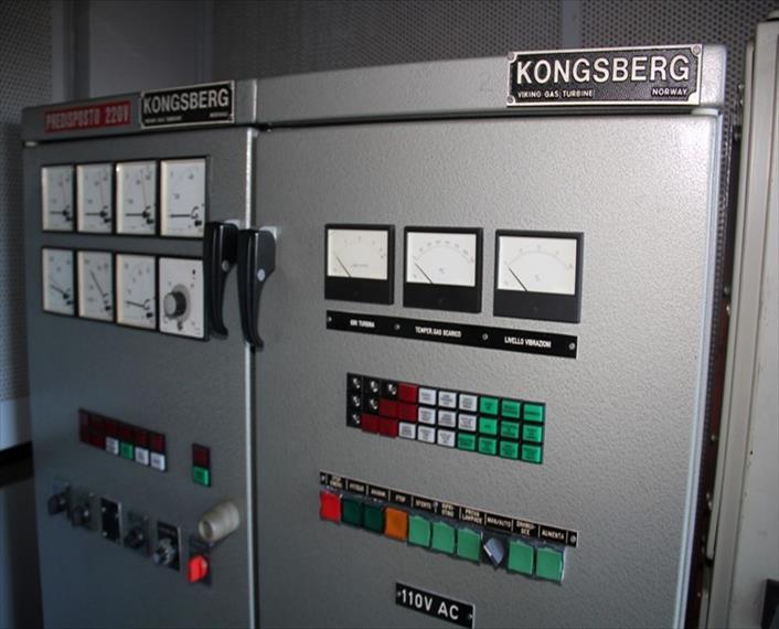 1978 Kongsberg KG 2 3 C Generator Set