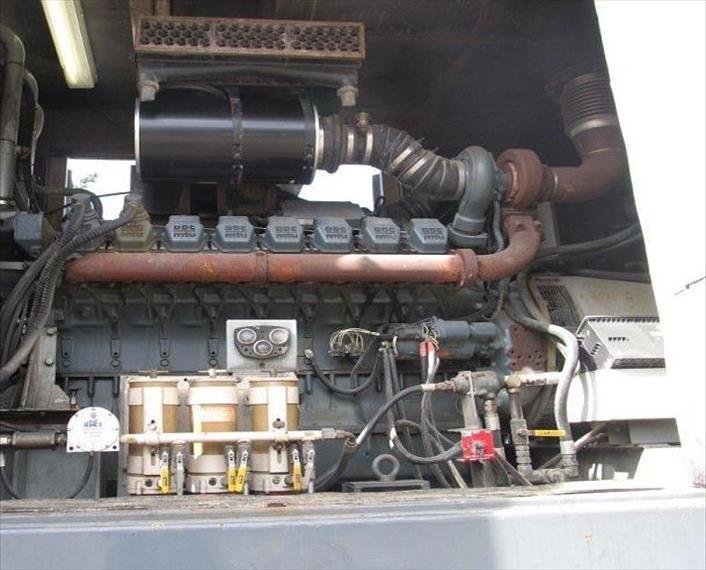 2000 Detroit MTU 16V2000DC Generator Set