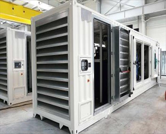 2011 Detroit MTU 12V4000G61 SDMO package Generator Set