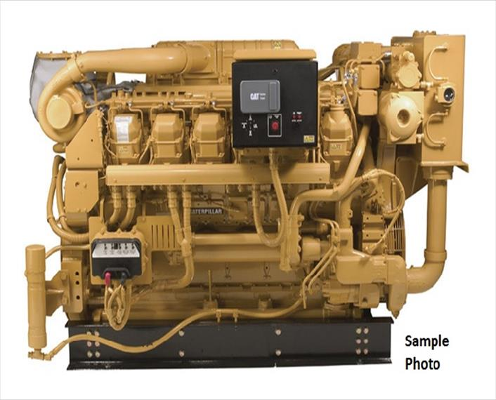 2007 Caterpillar C3512B DITA SCAC Engine