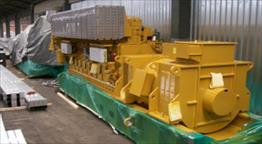 2007 CAT (MAK) 9CM25 Generator Set