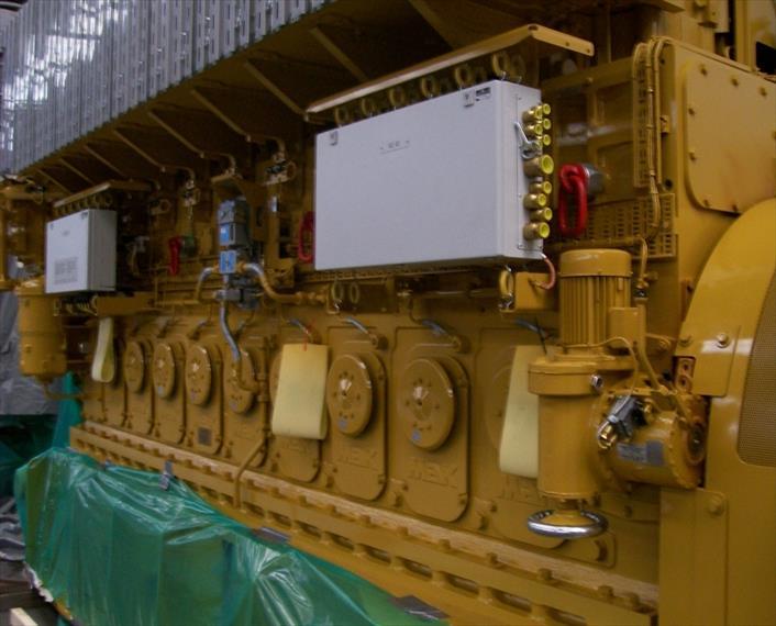 2007 CAT MAK 9CM25 Generator Set