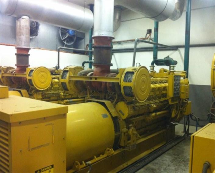 1992 Caterpillar 3516 DITA Power Plant