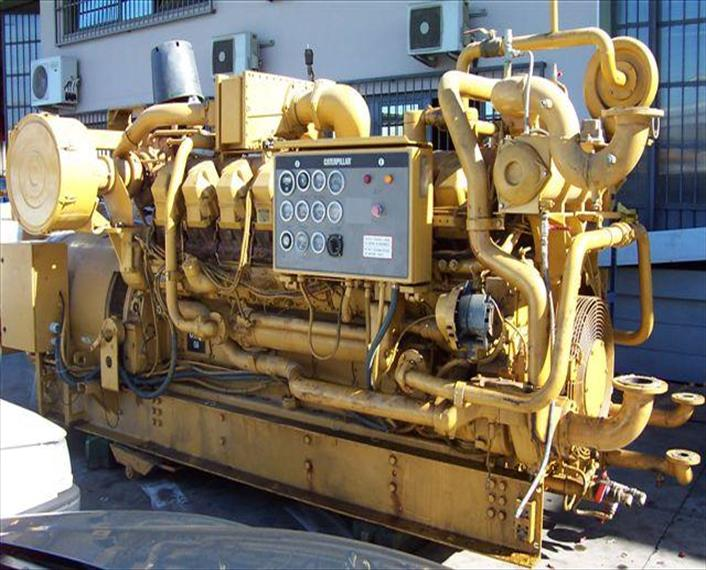 1998 Caterpillar G3532 tandem G3516s Generator Set