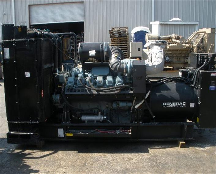Detroit MTU 12V2000 Generator Set