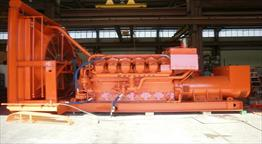 Waukesha 7042GSIU  Generator Set