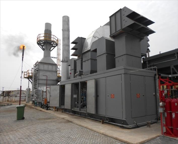 1999 Allison 501 KB7 Generator Set