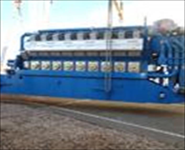 2004 Wartsila 12V34SG Generator Set