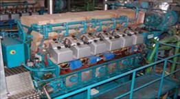 Wartsila 12V25 Generator Set