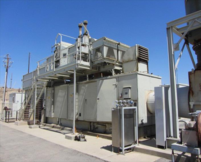Solar Centaur 50 EH 5701 59 Generator Set