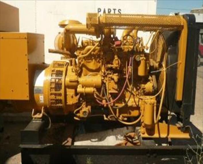 2004 Caterpillar 3306B DITA Generator Set