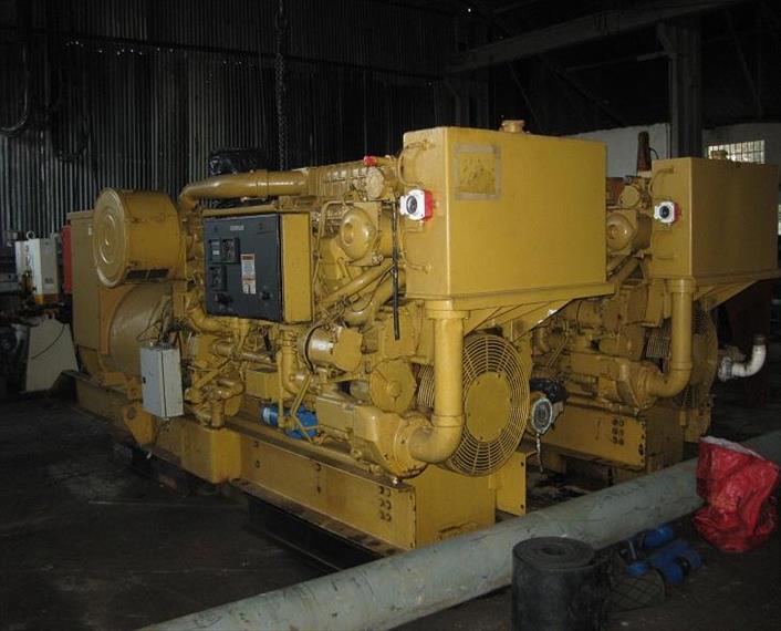 2001 Caterpillar 3512B DITA Generator Set