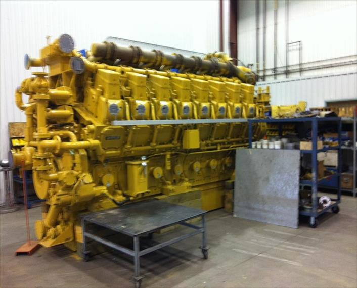 Caterpillar G3616 Generator Set