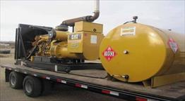 2010 CAT C18 Generator Set