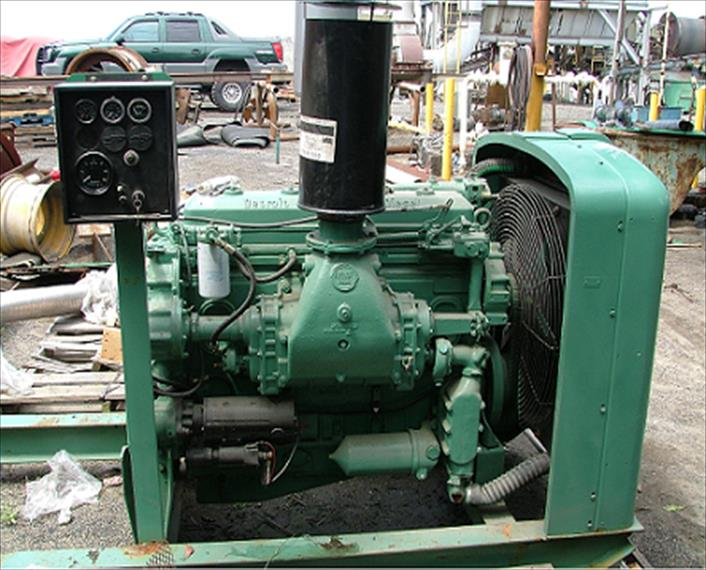 Detroit MTU 671N Engine