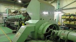 Mitsubishi 18KU30A Generator Set