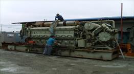 EMD 16V-645-E4 Generator Set