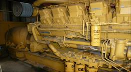 1989 Caterpillar 3512 Generator Set