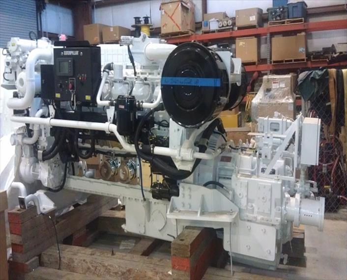 2008 Caterpillar 3512B Engine