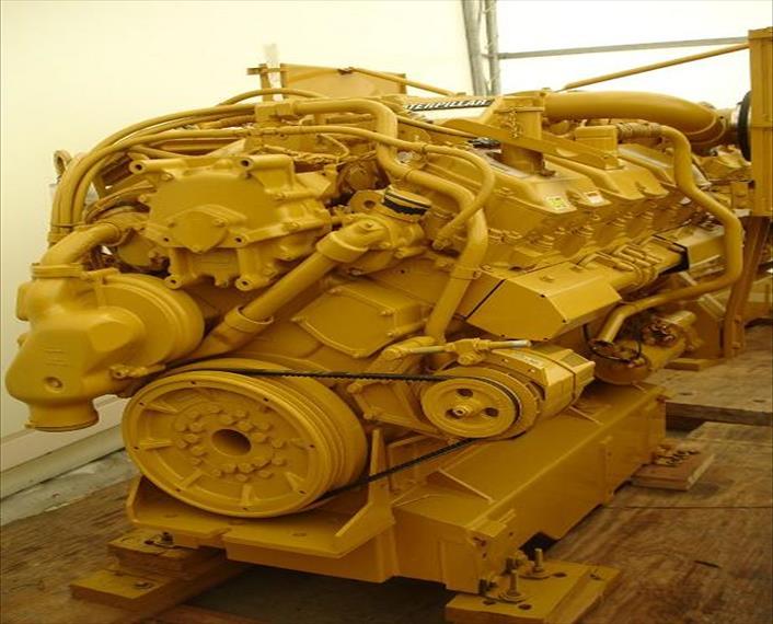 2009 Caterpillar 3412E Engine