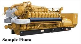 New CAT G3520C Generator Set