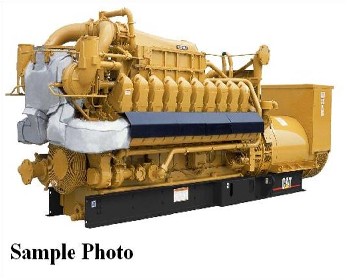 New CAT G3520C Generator Set