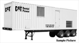 CAT XQ2000 Generator Set