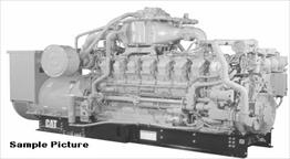 Caterpillar G3516B Generator Set