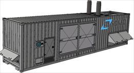 2015 SDMO XPack 2500 Generator Set