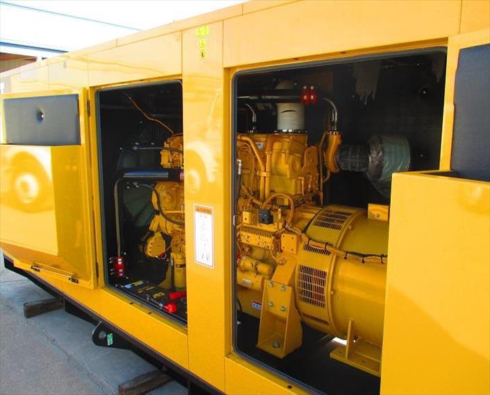 2009 Caterpillar C18 Generator Set