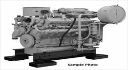 2013 Caterpillar CG137-12 TA Engine