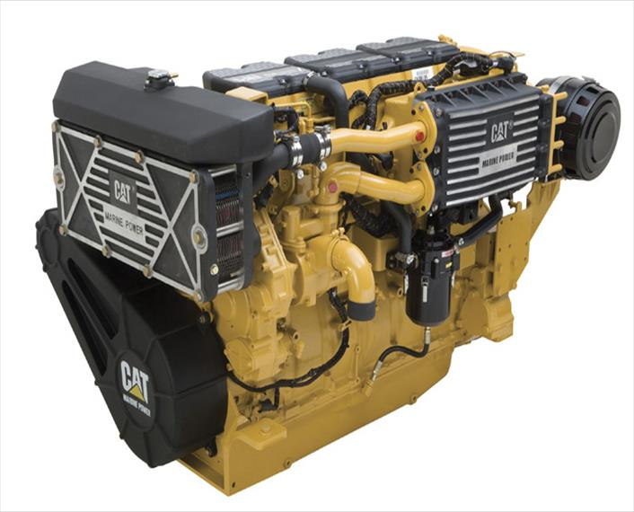 2012 Caterpillar C18 ACERT Engine