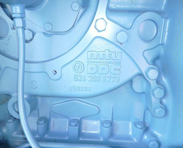 2011 MTU 12V4000G21R Generator Set