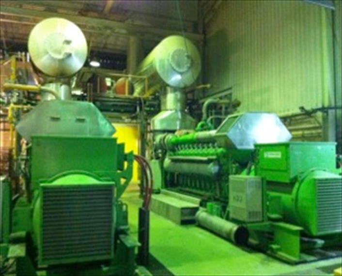 Jenbacher J620 G5 E01 Power Plant