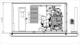 2002 Waukesha P48GLD Generator Set