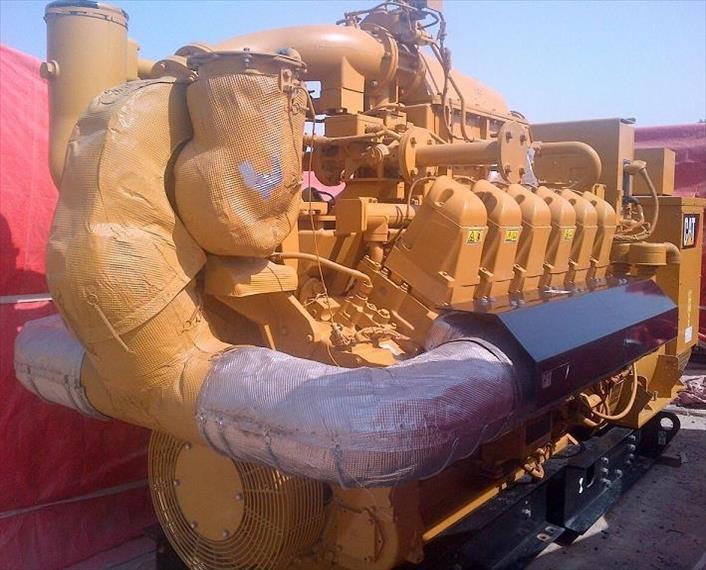2012 CAT G3512E Generator