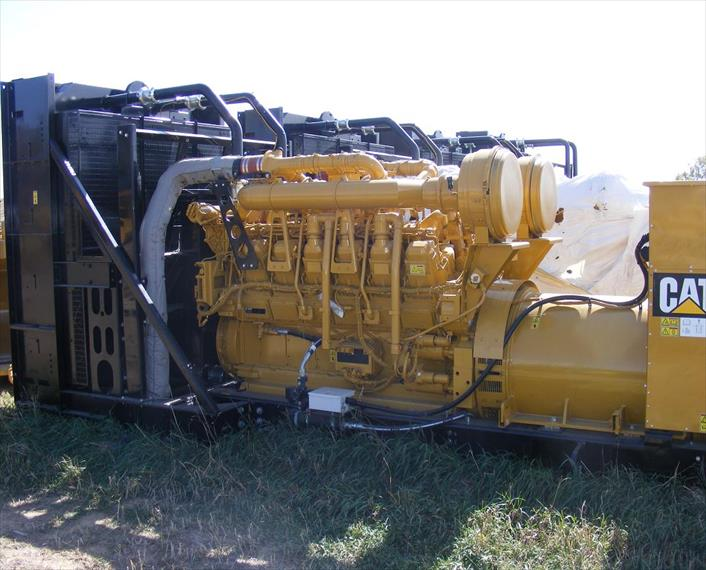 2010 Caterpillar 3512C Generator Set