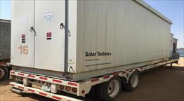 2002 Solar Taurus 60 Portable Generator Set