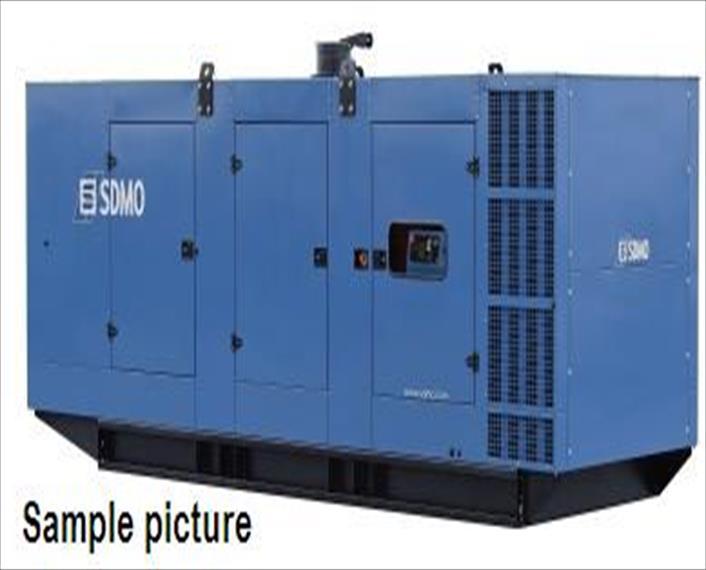 2014 SDMO Exel Generator Set