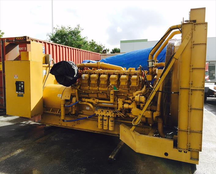 1998 Caterpillar 3512DITA Generator Set