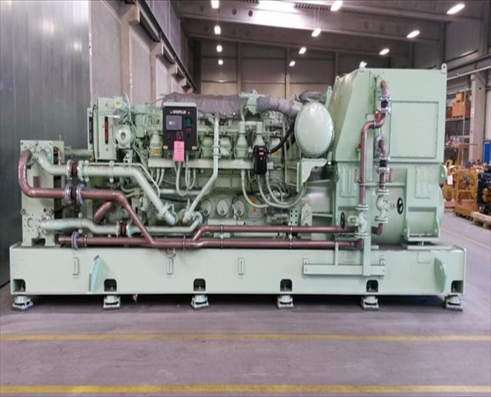 2012 CAT 3516C HD Generator Set