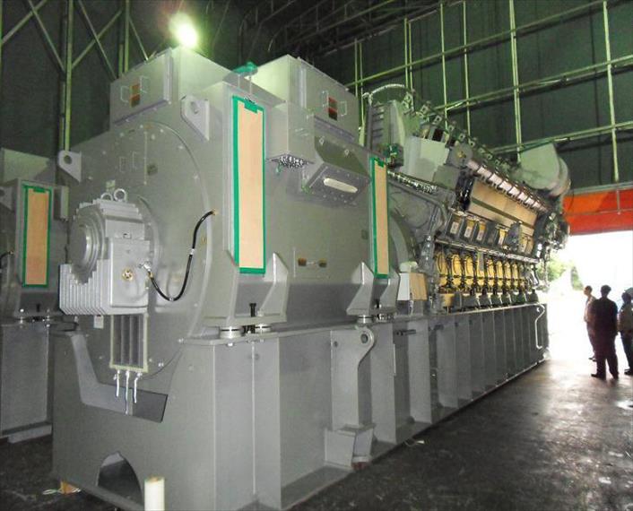 2010 MAN 18V32 40 Generator Set