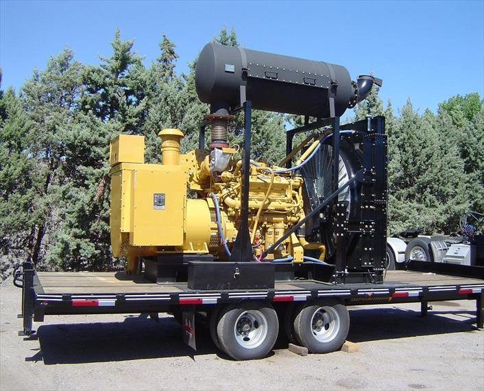 2010 Caterpillar G3412C LE Generator Set