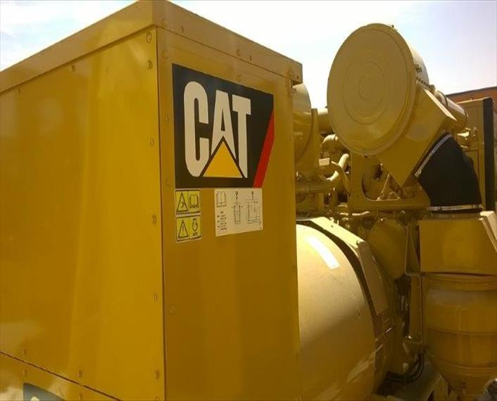 2014 Caterpillar 3512B Generator Set